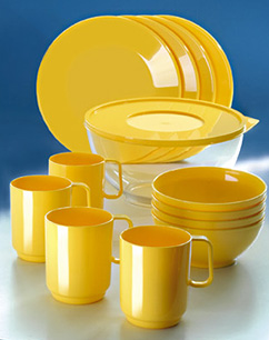 Patioware Table Sets Yellow